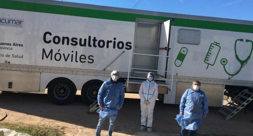 Región Sanitaria realizará una jornada de testeo rápido en el Club Villa Floresta
