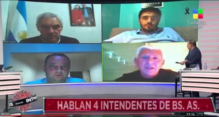 Galli debatió con el intendente de Monte Hermoso en Intratables