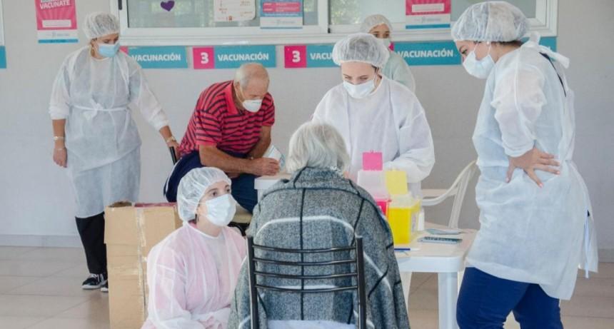 Se ha vacunado a unos 7000 olavarrienses de más de 60 años