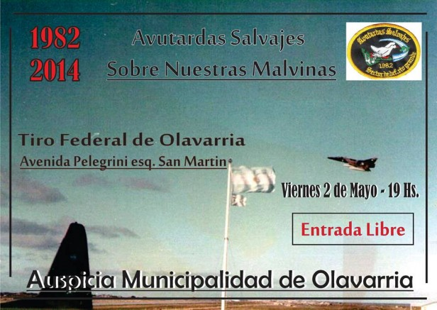 "Invitan a la charla de la ""Avutardas"" en la Guerra de Malvinas"