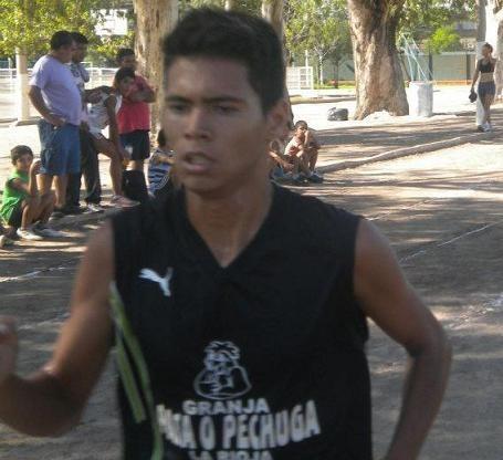El catamarqueño Marcelo Fabricius ganó la Vuelta al Municipio.