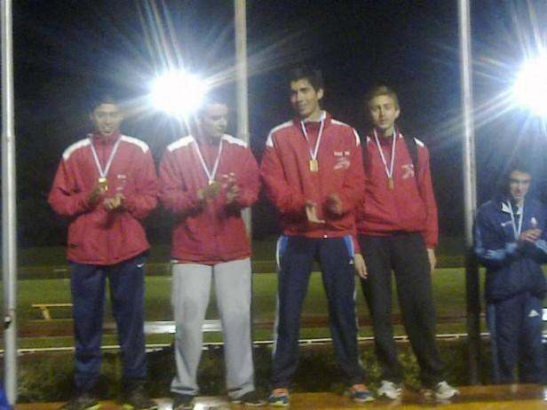 Atletas del CEF 100 se lucieron en Santa Fe