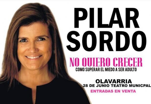 Entradas para la conferencia de Pilar Sordo en Olavarría