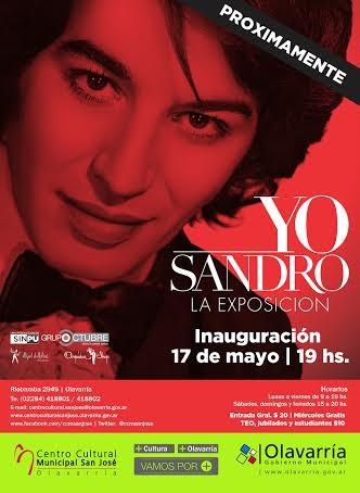"""""""YO Sandro"""" se inaugura este sábado"""