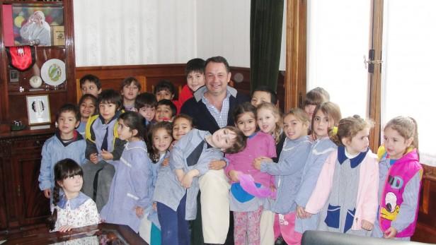Alvear: visita de alumnos al Palacio Municipal