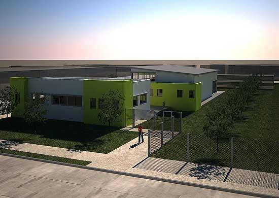Construcción del Servicio Municipal Territorial 2