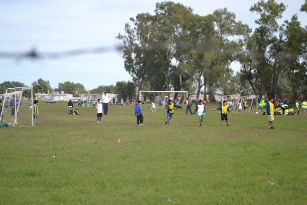 Fútbol Barrial en el Barrio Bancario