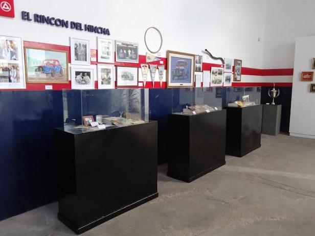 "Rincón del Hincha en el Museo Municipal ""Hnos Emiliozzi"""