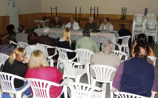 Autoridades de Coopelectric se reunieron en Amparo Castro