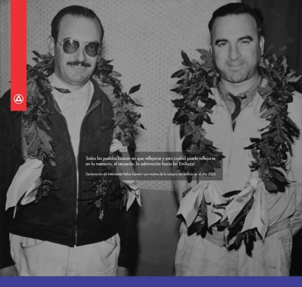 Se cumplen 61 años del 1º Triunfo de los hermanos Emiliozzi en el Turismo Carretera