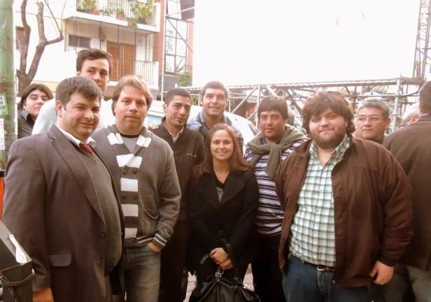 Olavarrienses presentes en el lanzamiento de campaña de Julio Cobos.
