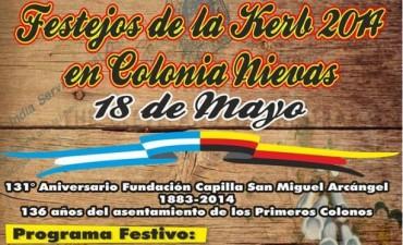 Gran Fiesta de la Kerb en Colonia Nievas