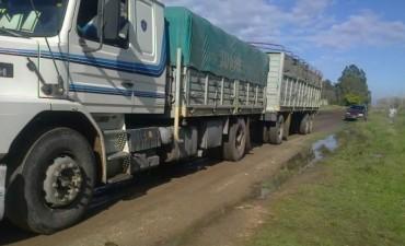 Se  infraccionó a un transporte por circular en caminos rurales