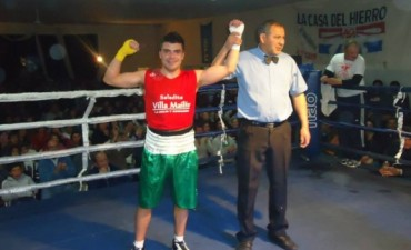 Boxeo:Marcos Catañeda , campeón amateur de la liga provincial