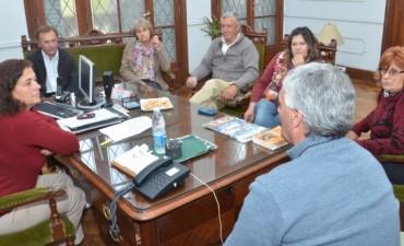Margarita Arregui se reunió con los Delegados Municipales