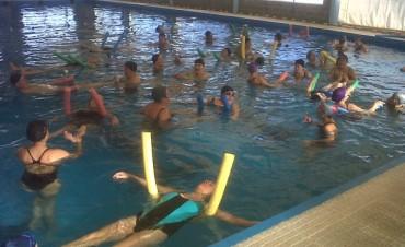 Actividades de Natación y Acqua Gym Municipal