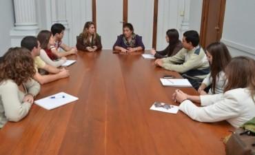 Arregui recibió a organizadores del CONEIC
