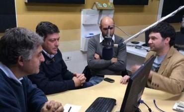 Mariotto habló de seguridad, policías, Justicia, política y educación en LU32