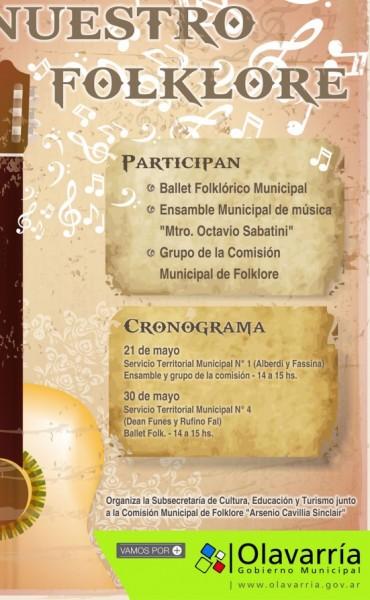 """""""Nuestro folklore"""" en concierto didácticos"""