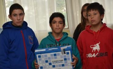 Más de 100 estudiantes de la EES N°6 recibieron sus netbooks