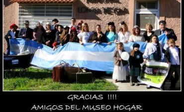 El logo del Museo Hogar Municipal Loma Negra fue presentado oficialmente