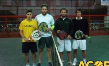 Padel. Ganaron Dominguez-  Masson
