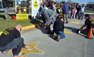 Pintaron una nueva estrella amarilla