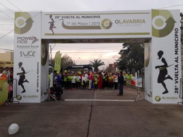 En Olavarría, bajo la lluvia se corrió la XXVIII Vuelta al Municipio