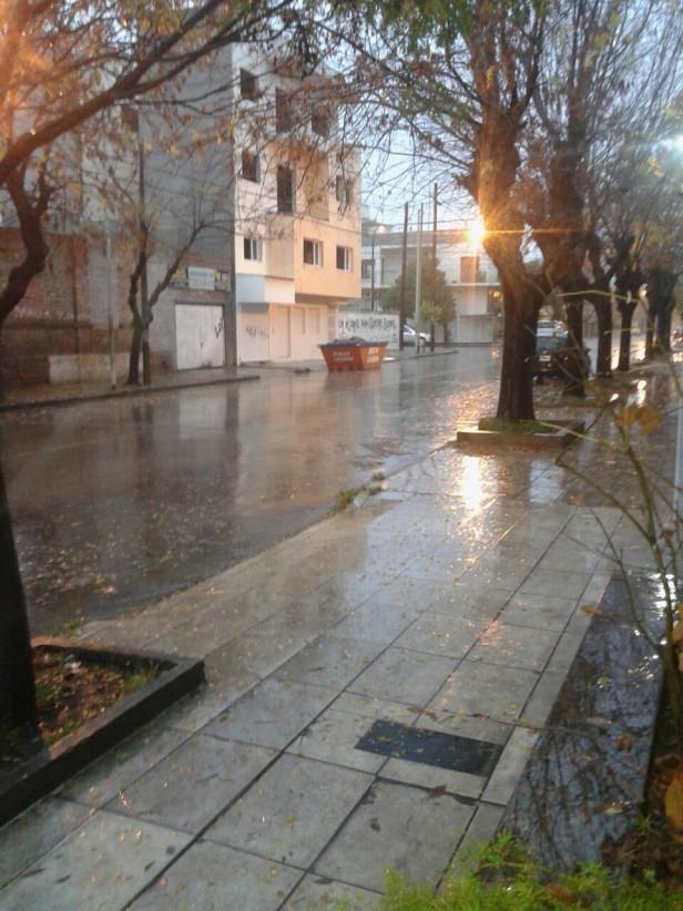 Feriado lluvioso