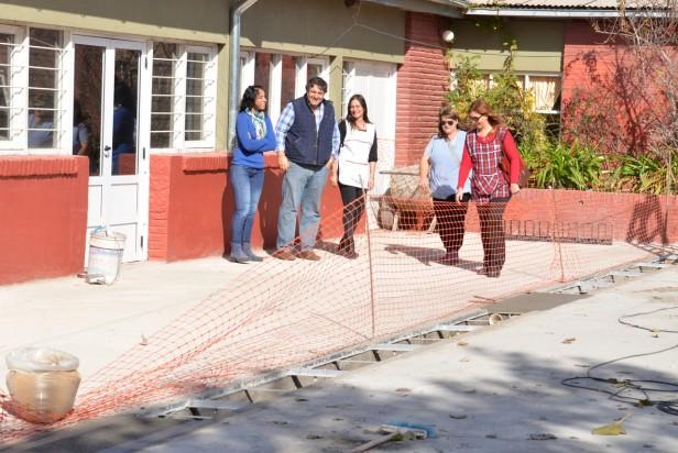En Sierras Bayas finalizan las obras de la Escuela Nº 77