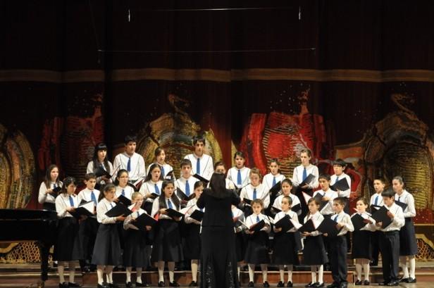 El Coro Nacional de Niños en Olavarría