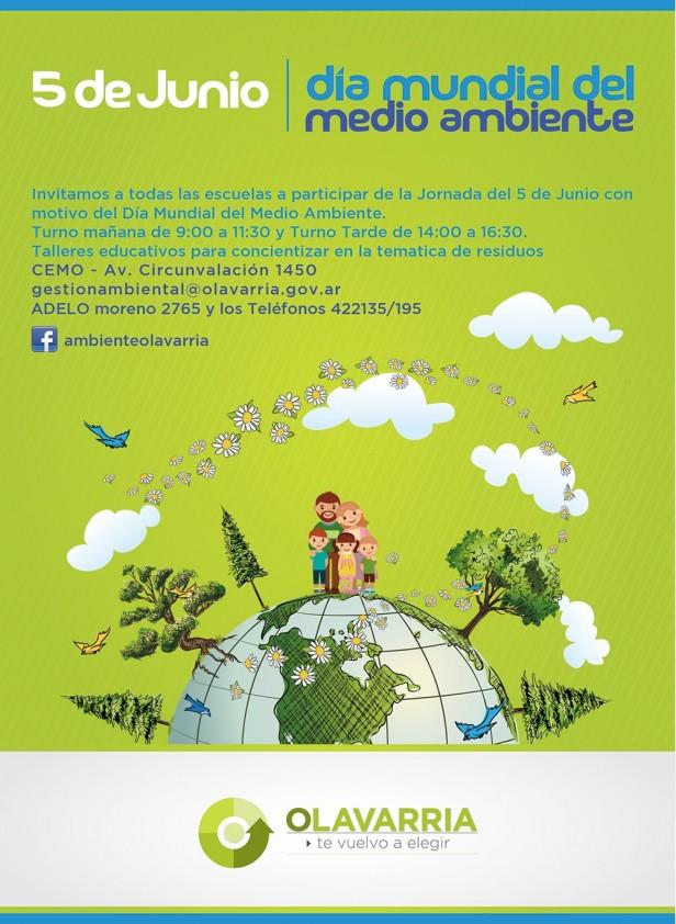 Convocatoria a escuelas primarias por el Día del Ambiente