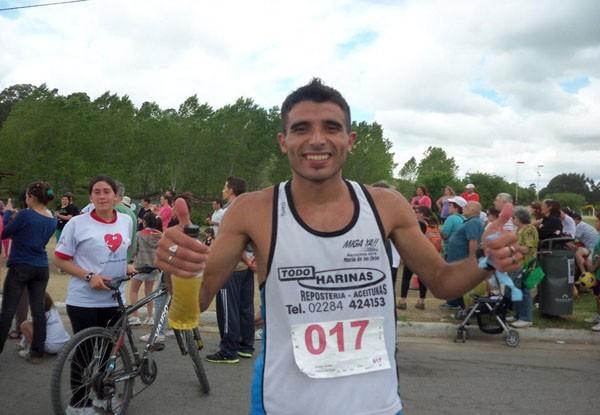 Leo Landaburu se quedó con la Maratón de Pueblo Nuevo
