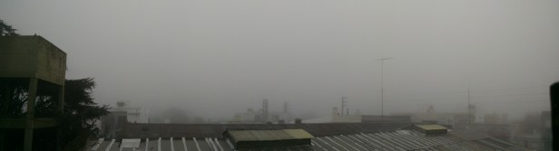 Según el SMN, la niebla seguiría hasta el mediodía