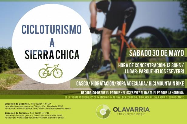 Cicloturismo de Otoño a Sierra Chica