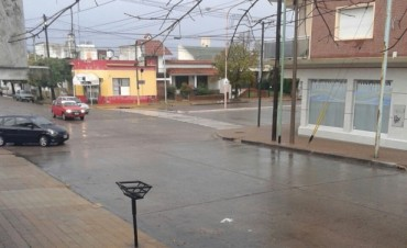 Sábado: amaneció con lluvia y al mediodía mejoró