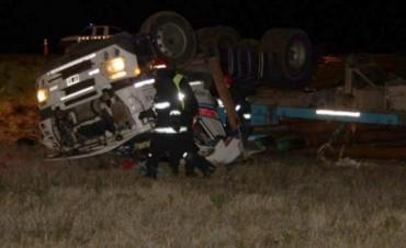 Accidente en Ruta 3:esta vez en jurisdicción de Tres Arroyos