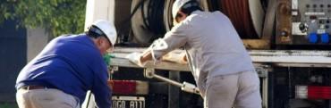 Obras Sanitarias normaliza el servicio de agua