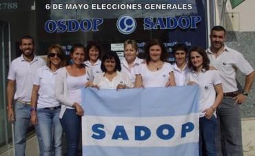 Más de 200 afiliados de SADOP votan en Olavarría