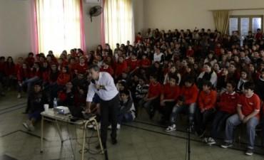 Seguridad Vial: Sergio Levin brindará charlas en escuelas de la ciudad