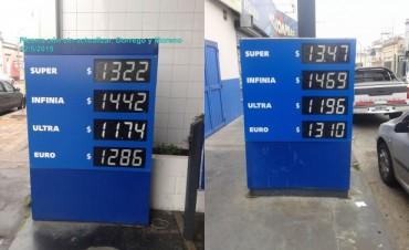 Por la devaluación, YPF aumentó el combustible