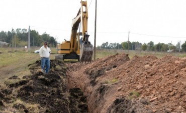 Avanzan las obras de infraestructura en los terrenos del Pickelado