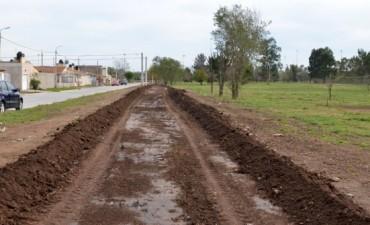 El Gobierno Municipal comenzó con las obras en el Parque Izaguirre