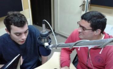 Ramiro Hittaller en Radio Olavarría