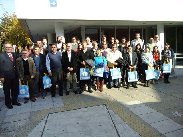 Funcionarios municipales en el Seminario de Políticas en Seguridad Ciudadana