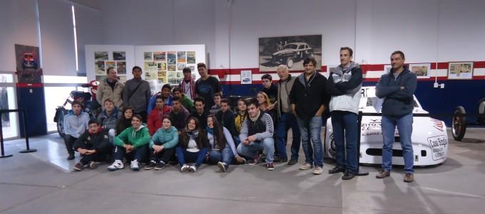 Alumnos de la Escuela Técnica visitaron el Museo Hermanos Emiliozzi