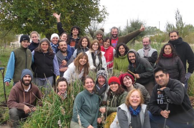 Se realizó el sexto encuentro del curso de Permacultura y Huerta Agro-Ecológica