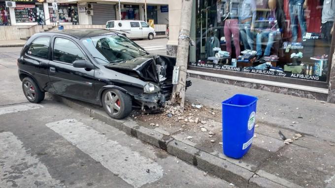 Dos accidentes en la primera mañana del domingo