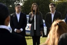 Merlo: Vidal inauguró escuela de policía local