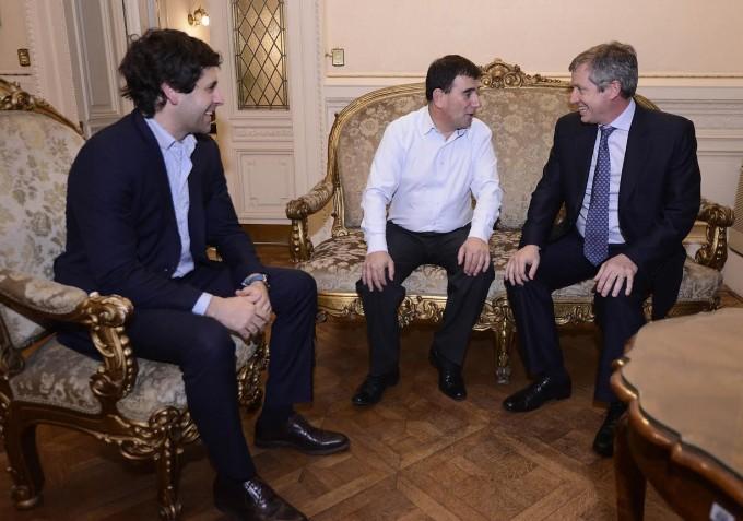 El intendente Bertellys se entrevistó con Monzó